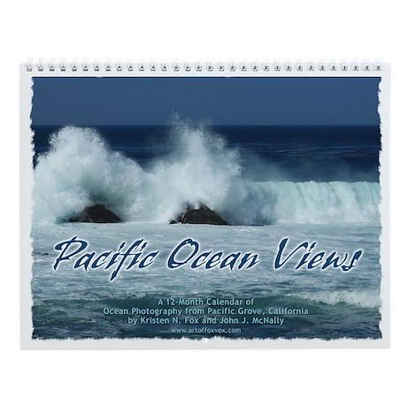 Pacific Ocean Views Wall Calendar