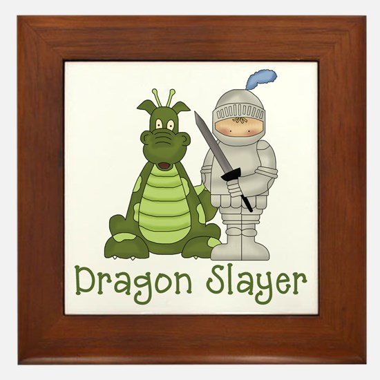 Dragon Slayer Framed Tile