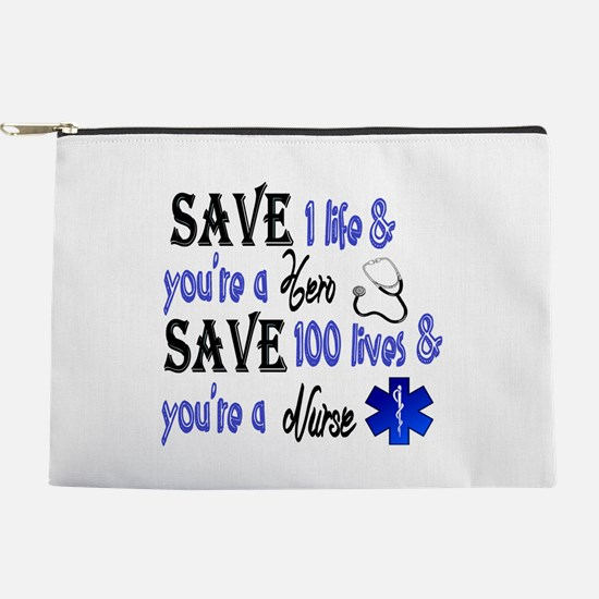Nurse, Save Makeup Bag