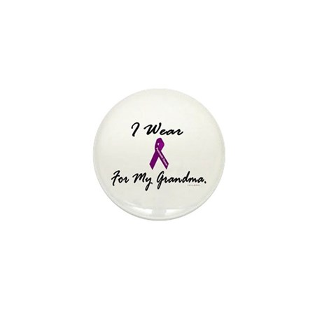 I Wear Purple 1 (Grandma PC) Mini Button (100 pack