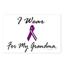 I Wear Purple 1 (Grandma PC) Postcards (Package of