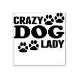 Crazy dog lady Bumper Stickers
