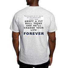 No Crime Ash Grey T-Shirt