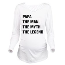Papa The Man. The Myth. The Legend Long Sleeve Mat