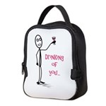 Drinking of You Neoprene Lunch Bag