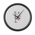 Drinking of You Large Wall Clock