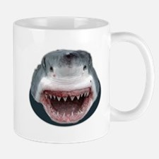 Shark Attack Head Sticking out of water Great Mugs