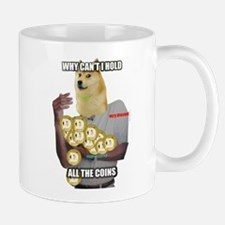 Why Can't I hold all of the Dogecoins? Mugs