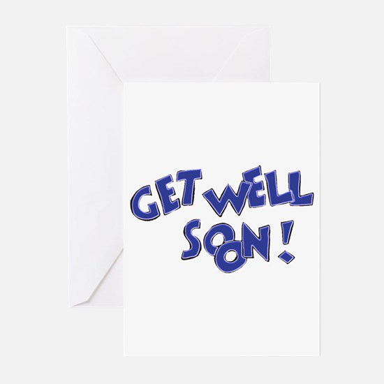 Get Well Soon! Greeting Cards (Pk of 20)