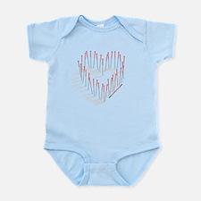 I LOVE ACUPUNCTURE Infant Bodysuit