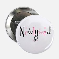 "Newlywed Ring 2.25"" Button"