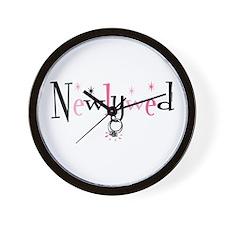 Newlywed Ring Wall Clock
