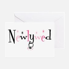 Newlywed Ring Greeting Card