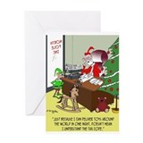 Accountant christmas Greeting Cards