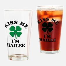 Cute Hailee Drinking Glass