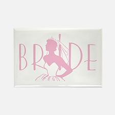 Strapless Bride Rectangle Magnet