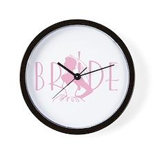 Strapless Bride Wall Clock
