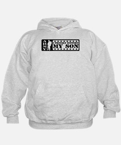 Proudly Support Son - ARMY Hoodie