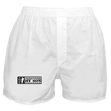 Proudly Support Son - ARMY Boxer Shorts