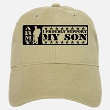 Proudly Support Son - ARMY Baseball Baseball Cap