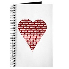 The Bride Red Heart Journal