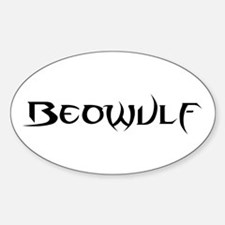 Beowulf Oval Decal
