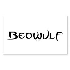 Beowulf Rectangle Bumper Stickers