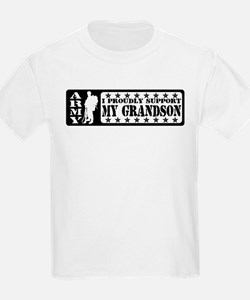 Proudly Support Grndsn - ARMY T-Shirt