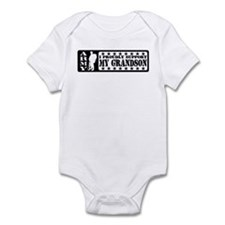 Proudly Support Grndsn - ARMY Infant Bodysuit