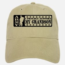 Proudly Support Grndsn - ARMY Baseball Baseball Cap