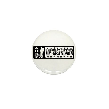 Proudly Support Grndsn - ARMY Mini Button
