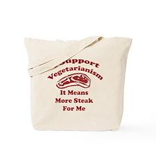 More Steak For Me Tote Bag