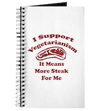 More Steak For Me Journal