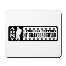 Proudly Support Grnddghtr - ARMY Mousepad