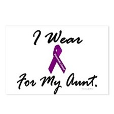 I Wear Purple 1 (Aunt PC) Postcards (Package of 8)