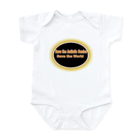 Save the Autistic Genius Infant Bodysuit