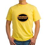 Save the Autistic Genius Yellow T-Shirt