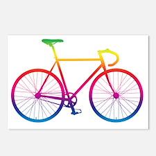 Unique Bike race Postcards (Package of 8)