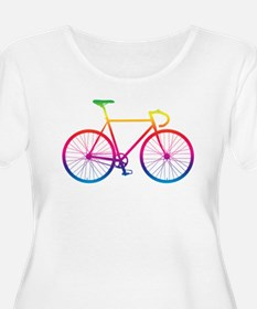 Road Bike - Rainbow Plus Size T-Shirt
