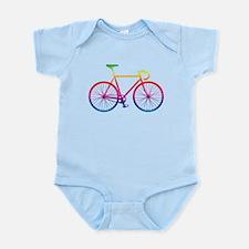 Road Bike - Rainbow Body Suit