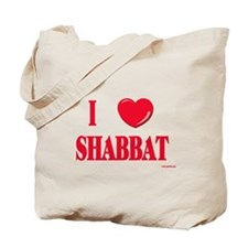 I Love Shabbat Tote Bag