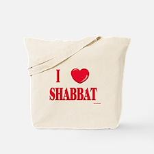 I Love Shabbat Tote Bag