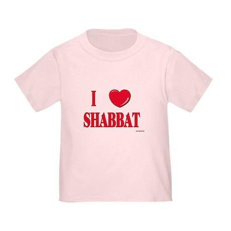 I Love Shabbat Toddler T-Shirt