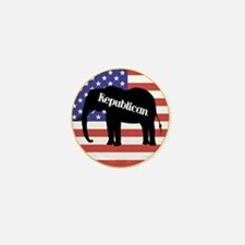 Republican Elephant Mini Button