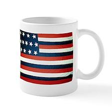 """Franklin"" US flag Mug"