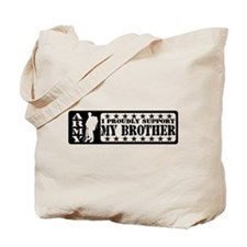 Proudly Support Bro - ARMY Tote Bag