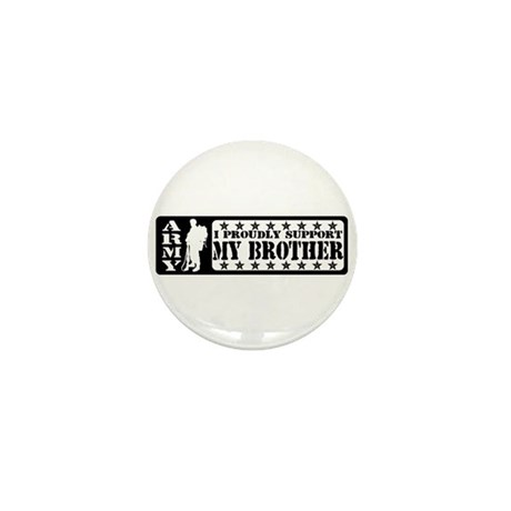 Proudly Support Bro - ARMY Mini Button