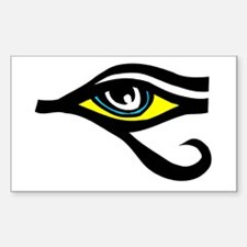 Eye of Ra Rectangle Decal