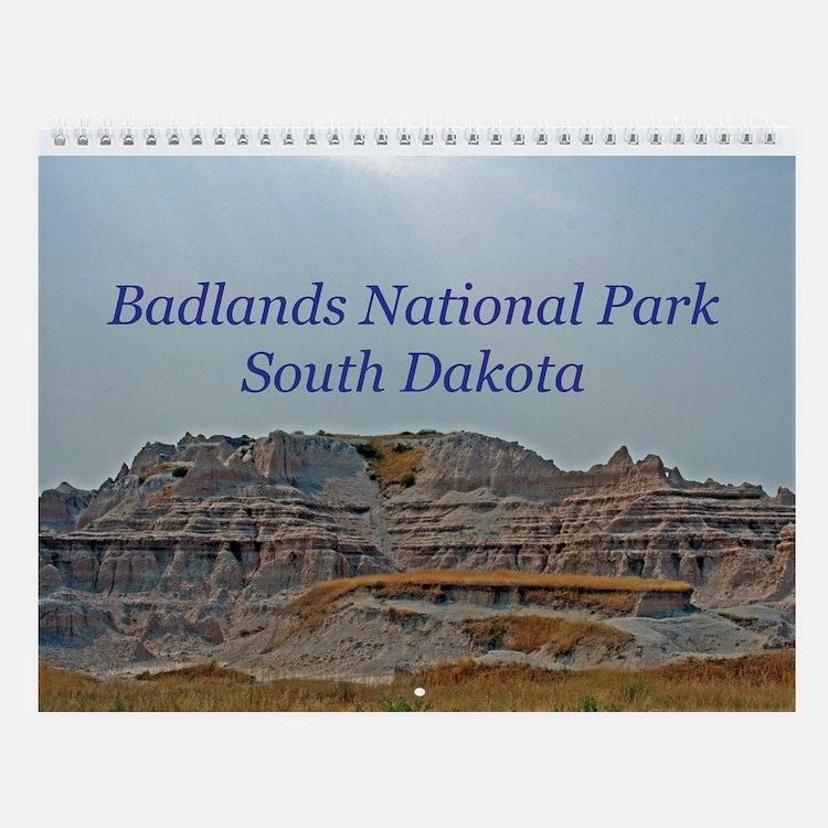 Badlands National Park Wall Calendar