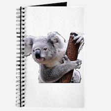 Koala Bear holding onto a tree Journal